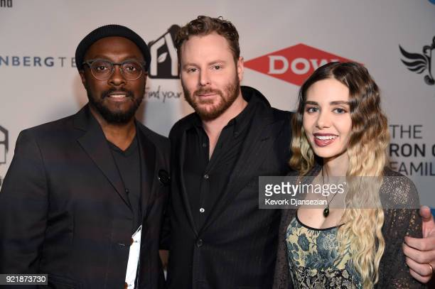 william Sean Parker and Alexandra Lenas at william's iamangel Foundation TRANS4M 2018 Gala Honoring Sean Parker Chairman Parker Institute for Cancer...