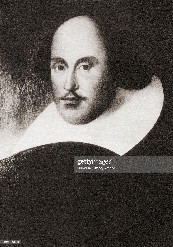William Shakespeare, 1564 - 1616 : News Photo