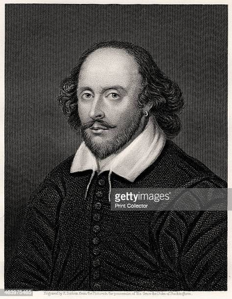 William Shakespeare English playwright 19th century Portrait of the playwright