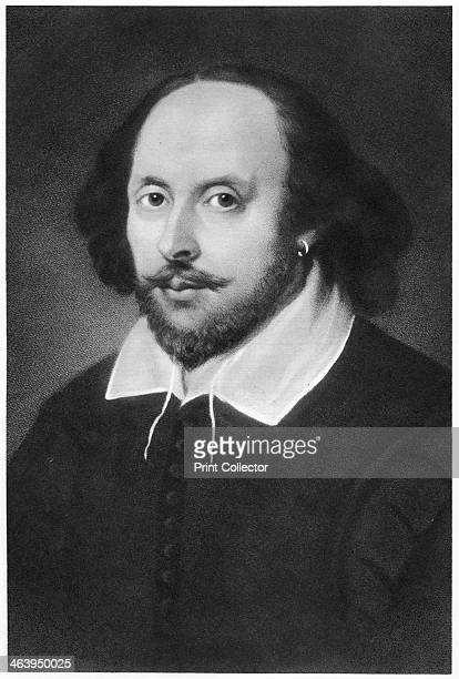 William Shakespeare English playwright Portrait of the poet and playwright
