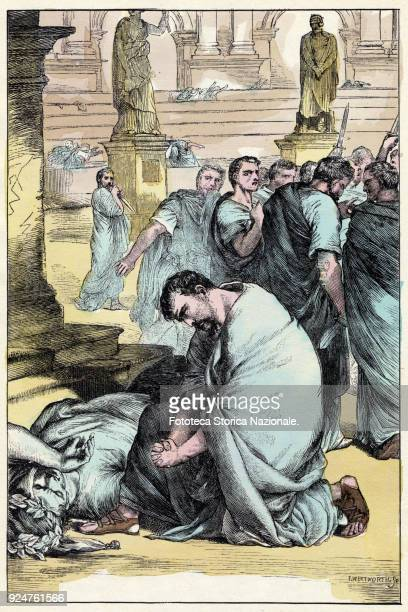 William Shakespeare 'Julius Caesar' Act III Scene I 'Antonio Oh you forgive me clod of bloody earth ' The death of Julius Caesar took place on March...