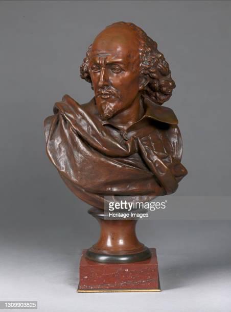 William Shakespeare, late 19th century. Artist Albert Ernest Carrier de Belleuse. .
