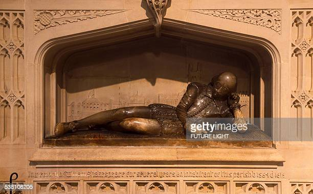 William Shakespeare memorial, Southwark Cathedral