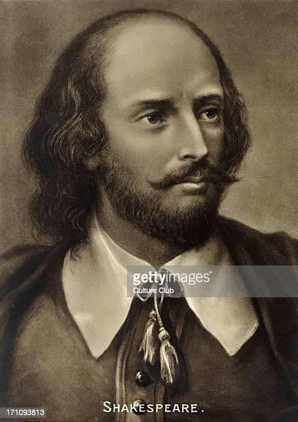 William Shakespeare portrait English playwright 15641616