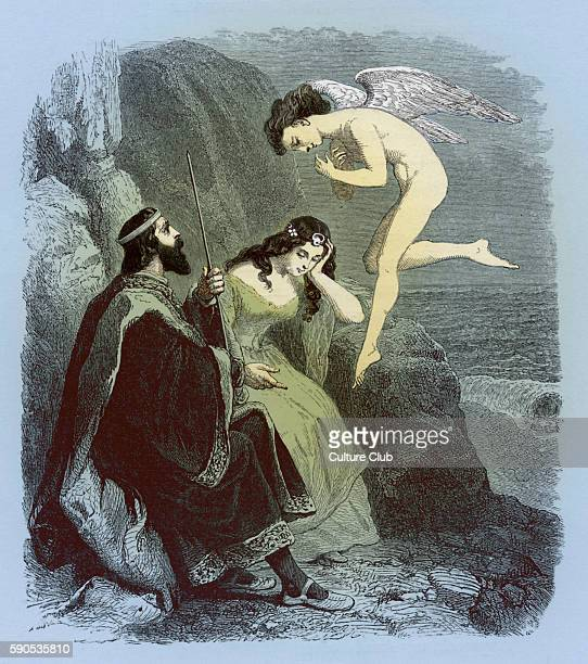 calibans original love for prospero and miranda in the story the tempest Tempest character analysis william shakespeare's last play the tempest is a story about prospero (the rightful duke of milan) he is betrayed by his brother antonio and left on a ship with his daughter miranda.