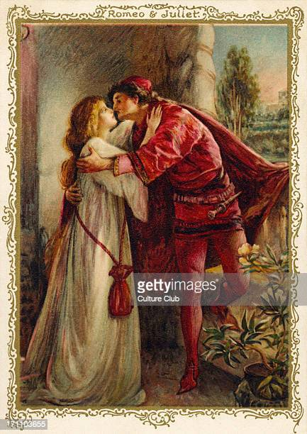William Shakespeare 's Romeo and Juliet balcony scene WS English playwright 26 April 1564 – 23 April 1616