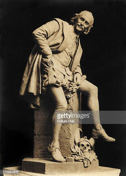 William Shakespeare statue Weimar By professor Otto Lessing English playwright 15641616
