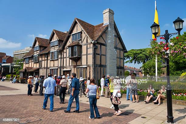 William Shakespeare's birthplace in Strartford upon Avon, Warwickshire, UK