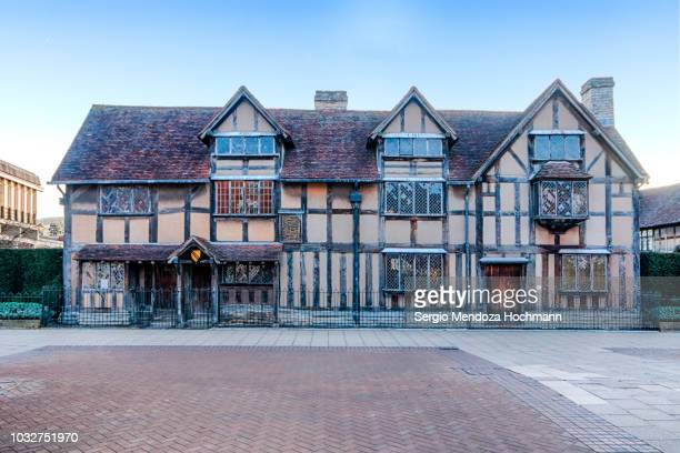 William Shakespeare's birthplace in Stratford-upon-Avon, England