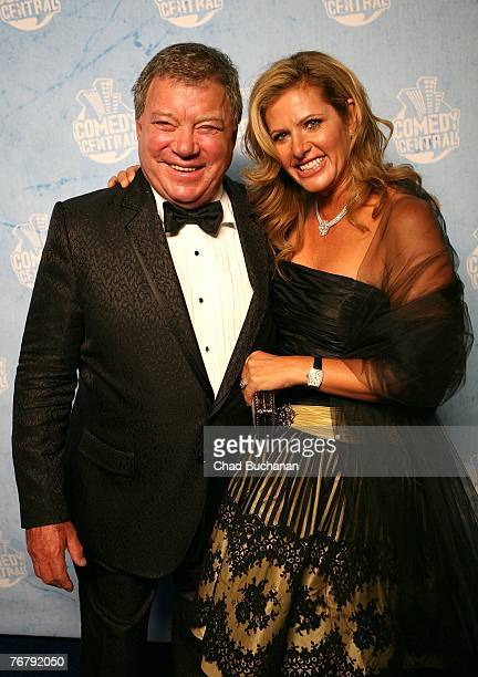 William Shatner and Elizabeth Shatner arrive at Comedy Central's 2007 Emmy Party Party September 16 2007 in Los Angeles