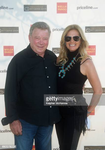 William Shatner and Elizabeth Shatner attend 27th Annual Pricelinecom Hollywood Charity Horse Show at Los Angeles Equestrian Center on June 3 2017 in...