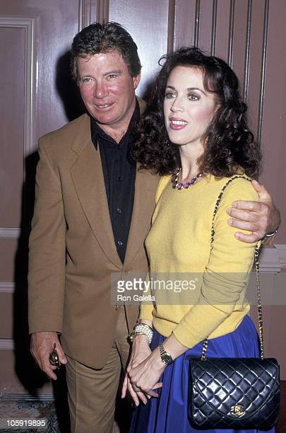 William Shatner and Marcy Lafferty during 6th Annual Celebrity MotherDaughter Fashion Show at Beverly Hilton Hotel in Beverly Hills California United...