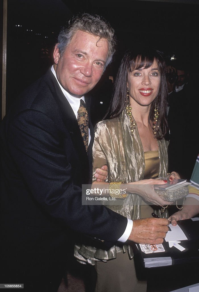 William Shatner and Marcy Lafferty during Benefit Fundraiser for John Gary at Bel Age Hotel in West Hollywood, California, United States.