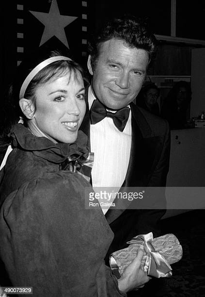 William Shatner and wife attend Nineth Annual American Film Institute Lifetime Achievement Awards Honoring Fred Astaire on April 10 1981 at the...