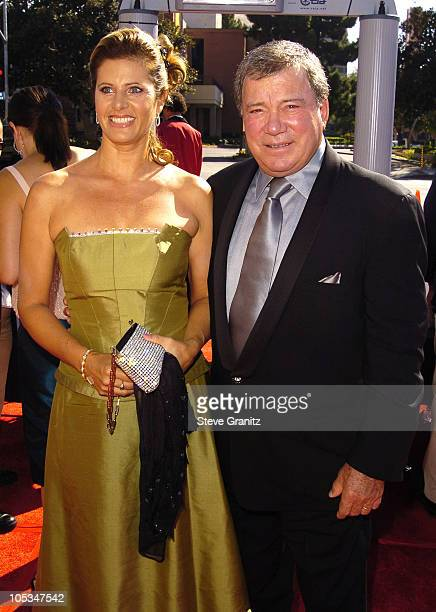 William Shatner and wife Elizabeth Anderson Martin
