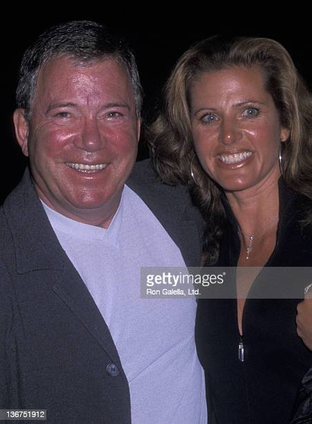 William Shatner and wife Elizabeth Martin attend Michael Jackson 30th Anniversary Celebration on September 7 2001 at Madison Square Garden in New...