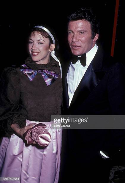 William Shatner and wife Marcy Lafferty attend Nineth Annual American Film Institute Lifetime Achievement Awards Honoring Fred Astaire on April 10...