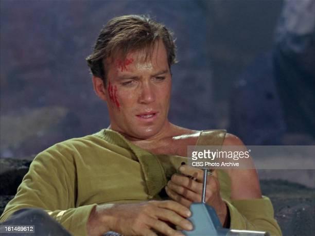 "William Shatner as Captain James T. Kirk in the STAR TREK episode, ""Where No Man Has Gone Before."" Season 1, Episode 3. Original air date, September..."