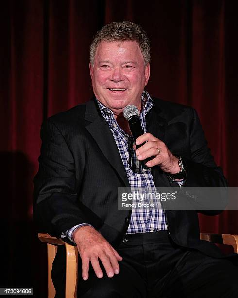 "William Shatner attends the 2015 New York City International Film Festival screening of ""Chaos On The Bridge"" at DGA Theater on May 1, 2015 in New..."