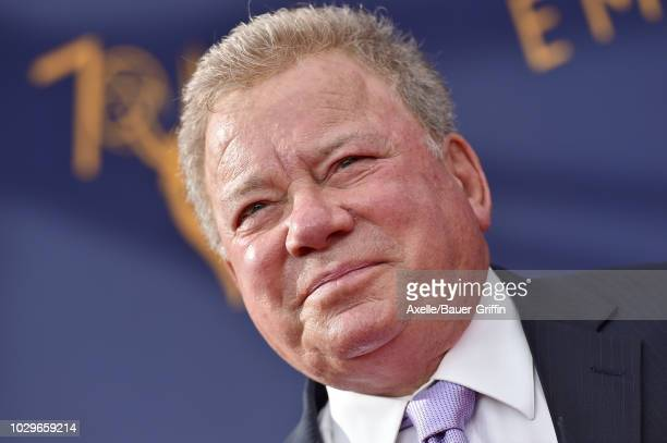 William Shatner attends the 2018 Creative Arts Emmy Awards at Microsoft Theater on September 8, 2018 in Los Angeles, California.