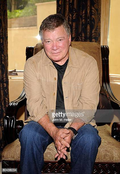 William Shatner attends the art opening of Giorgio Tuscani and Elizabeth Shatner on March 29 2008 at a private residence in Studio City California