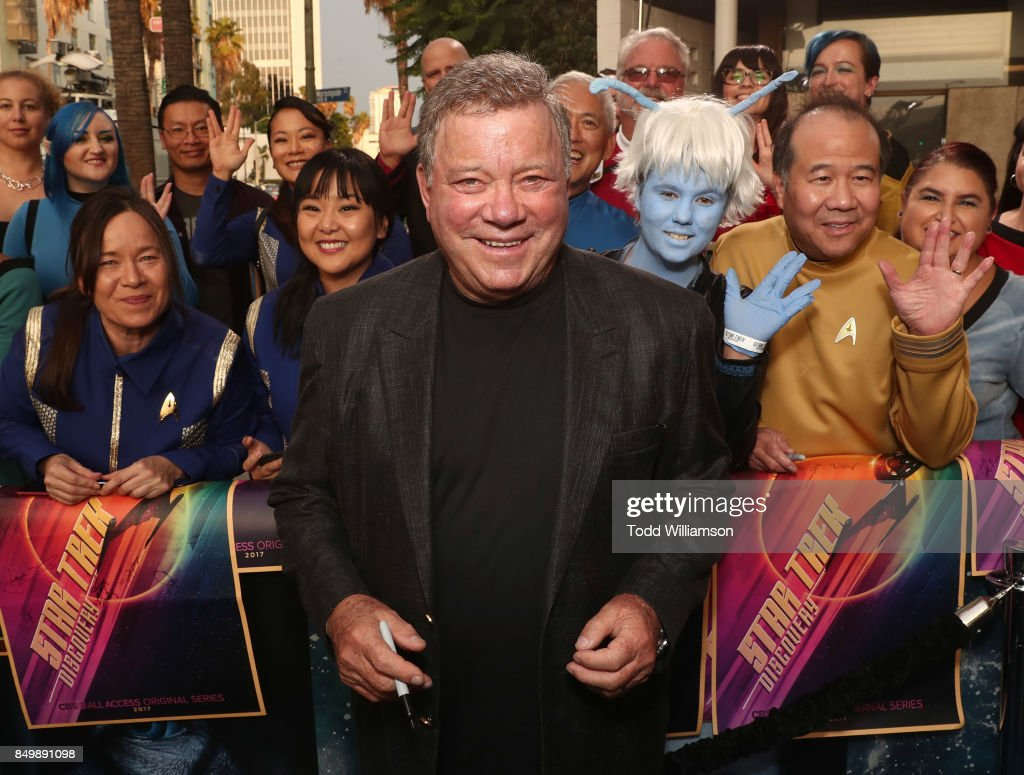William Shatner attends the premiere of CBS's 'Star Trek: Discovery' at The Cinerama Dome on September 19, 2017 in Los Angeles, California.