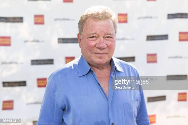 William Shatner attends the William Shatner's Pricelinecom Hollywood Charity Horse Show Hosted By Wells Fargo at Los Angeles Equestrian Center on...