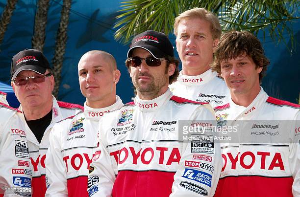 William Shatner, Dave Mirra, Patrick Dempsey, John Elway and Buckey Lasek
