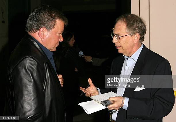 William Shatner during Academy of Television Arts Sciences An Evening with Boston Legal at Leonard H Goldenson Theater in North Hollywood California...