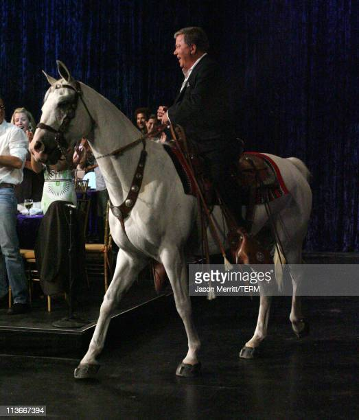 William Shatner during Comedy Central's Roast of William Shatner - Show at CBS Studio Center in Studio City, California, United States.