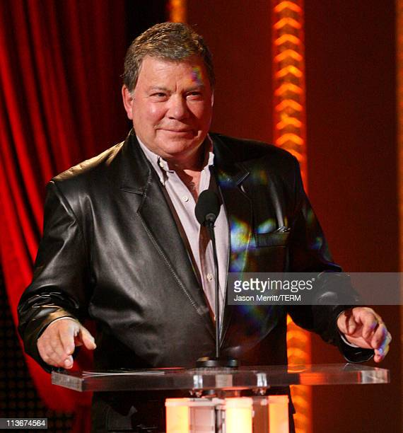 William Shatner during Spike TV's Scream Awards 2006 Show at Pantages Theater in Hollywood California United States