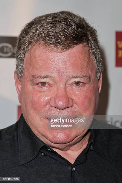 William Shatner hosts the annual Pricelinecom Hollywood charity horse show at The Six Restaurant on February 5 2015 in Studio City California