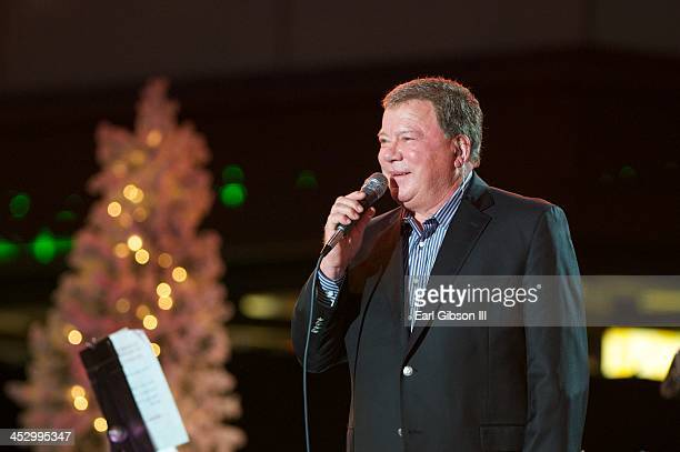 William Shatner performs at The Hollywood Christmas Parade on December 1 2013 in Hollywood California