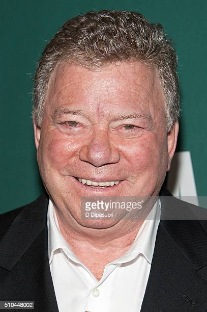 William Shatner promotes his book Leonard My FiftyYear Friendship with a Remarkable Man at Barnes Noble Union Square on February 15 2016 in New York...