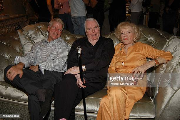 William Sheets Donald Schmidt and Janet Hansen attend Patrick McDonald hosts Eve Kitten event at Phyllis Morris Originals at West Hollywood on July...