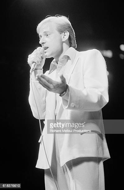 William Sheller Singing at the Olympia in Paris