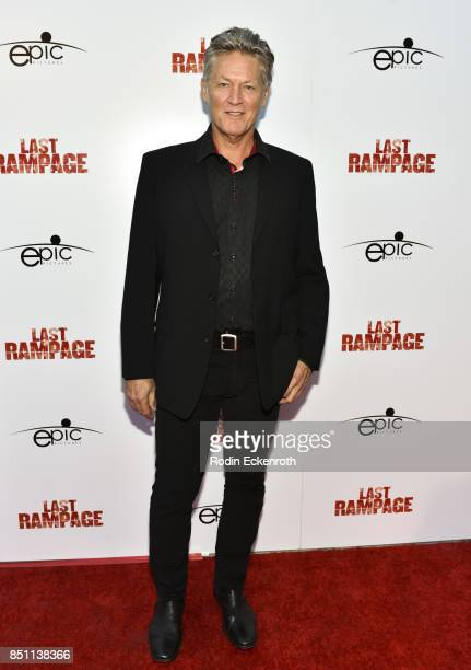 William Shockley attends the premiere of Epic Pictures Releasings' 'Last Rampage' at ArcLight Cinemas on September 21 2017 in Hollywood California
