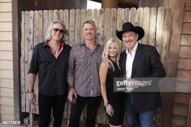 William Shockley John Schneider Tiiu Loigu and Kix Brooks attend 'You're Gonna Miss Me' premiere sponsored by Visit Tucson on May 13 2017 in Tucson...