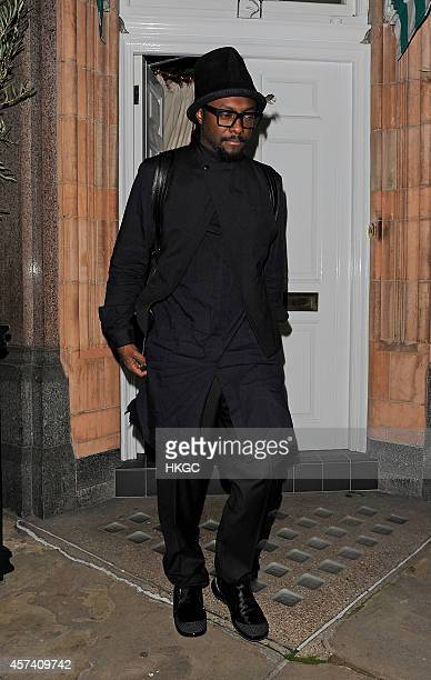 william sighting at Harry's Bar in Mayfair on October 17 2014 in London England