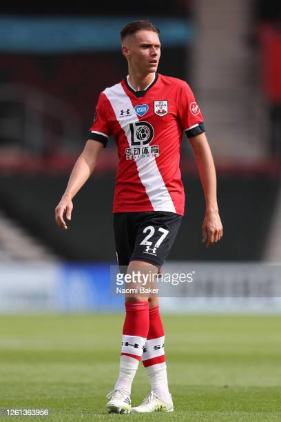 William Smallbone of Southampton looks on during the Premier League match between Southampton FC and Sheffield United at St Mary's Stadium on July 26...