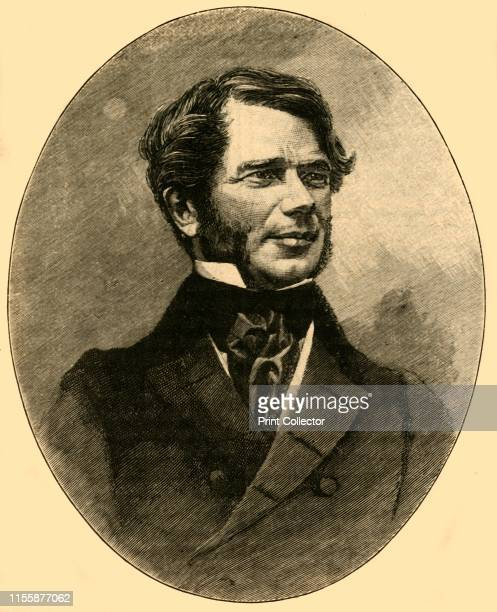 William Smith O'Brien Irish nationalist rebel and politician circa 1848 From Cassell's History of England Special Edition Vol V [Cassell and Company...