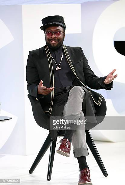 William speaks on stage as The Business of Fashion presents VOICES on December 3 2016 in Oxfordshire England