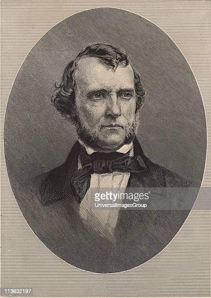 William Starling Sullivant American botanist born at Columbus Ohio He specialised in bryology the study of mosses and liverworts Engraving 1896