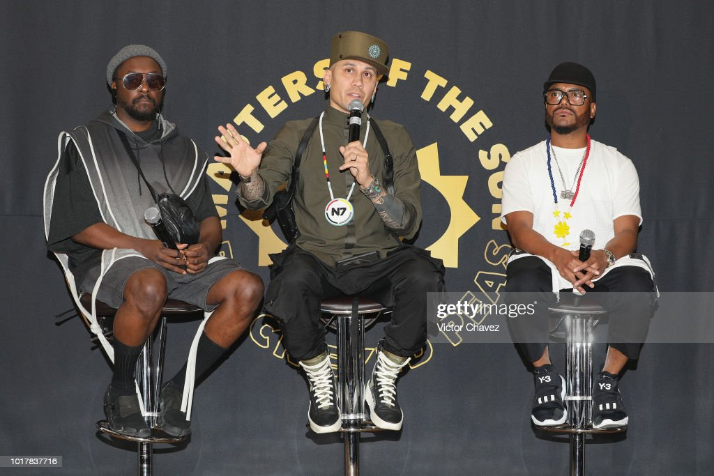 Black Eyed Peas Press Conference