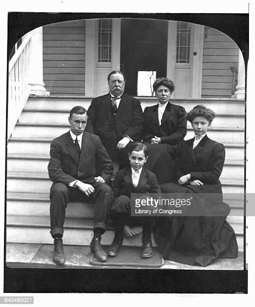 William Taft Sitting with Family