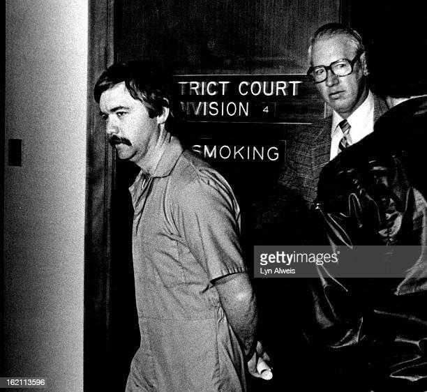 MAR 12 1983 NOV 17 1983 William Talboys leaving District Court 830 Am March 11 1983