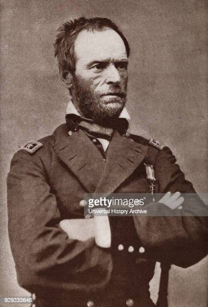 William Tecumseh Sherman 1820 – 1891 American soldier businessman educator author and General in the Union Army during the American Civil War From...