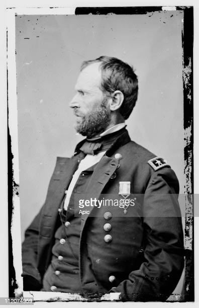 William Tecumseh Sherman american general during American Civil War c1864