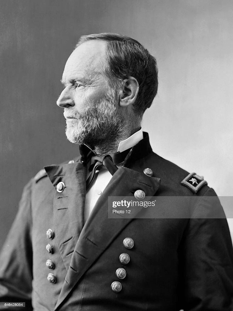 William Tecumseh Sherman : News Photo