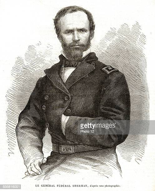 William Tecumseh Sherman born 8th February 1820 and died 14th February 1891 He was a serviceman businessman teacher american writer